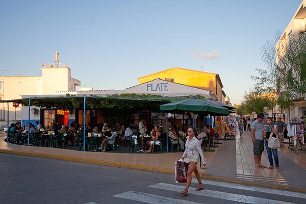 Sant Frances Xavier, el punto de reunión de Formentera