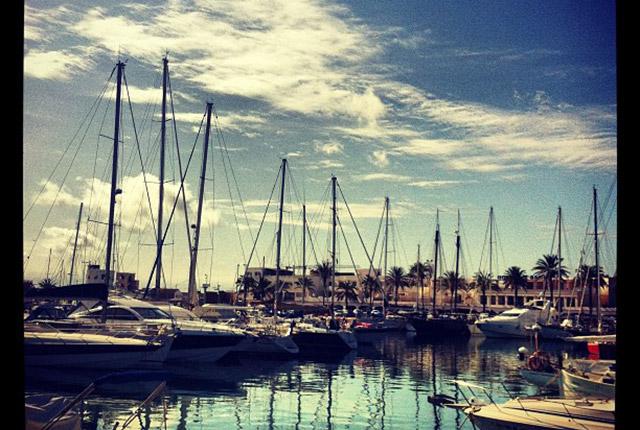 La Savina, puerto de Formentera