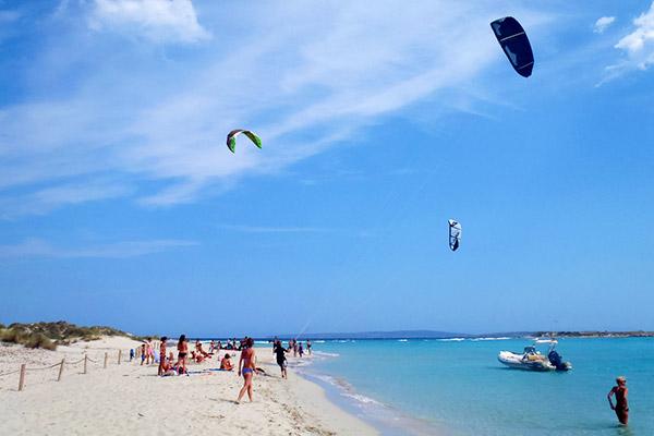 Deportes náuticos en Formentera