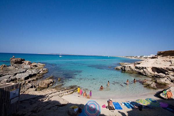 Playas Formentera…Caló des Mort, Sa Roqueta y S'alga