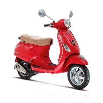 Moto vespa for rent in Formentera