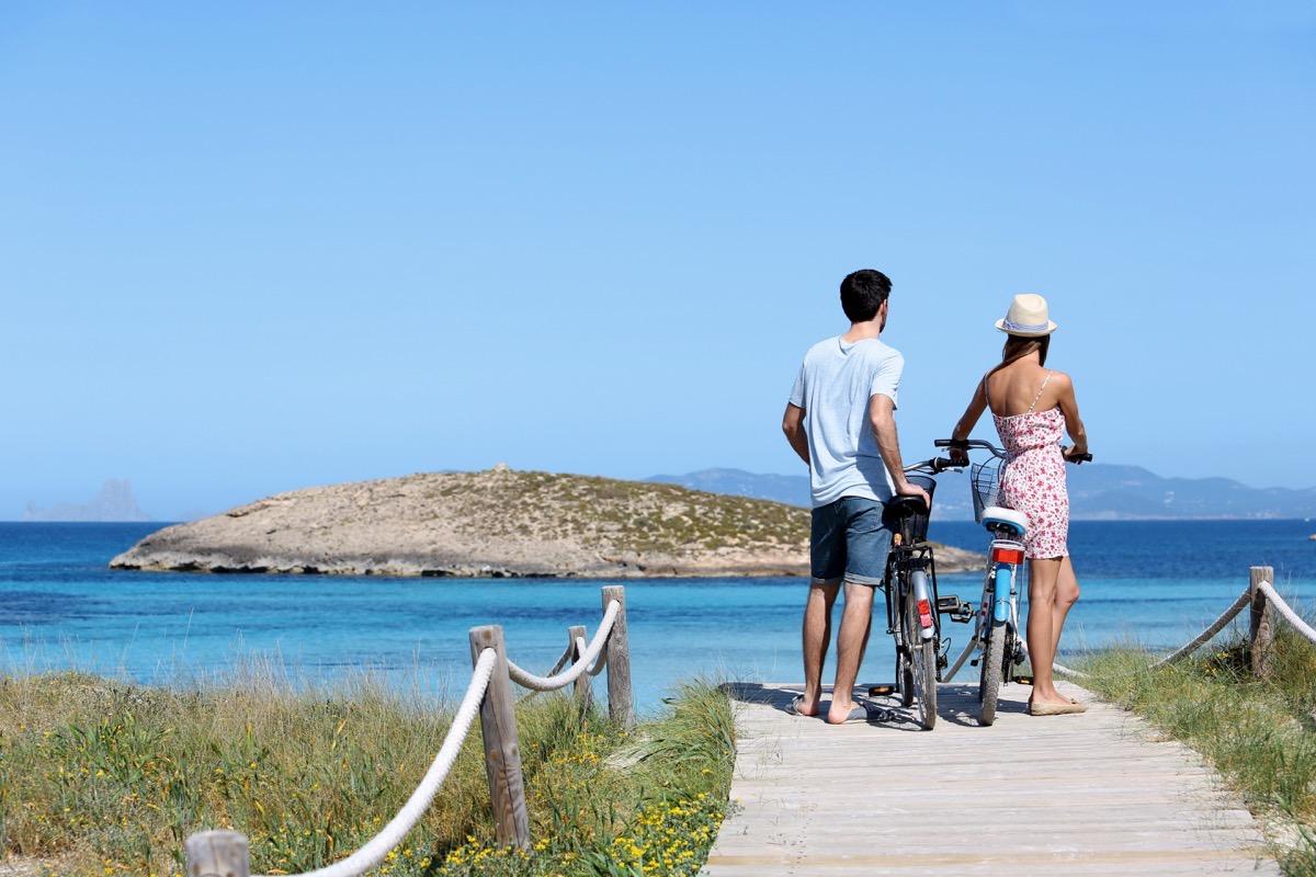 Formentera, «La isla  de las bicicletas»