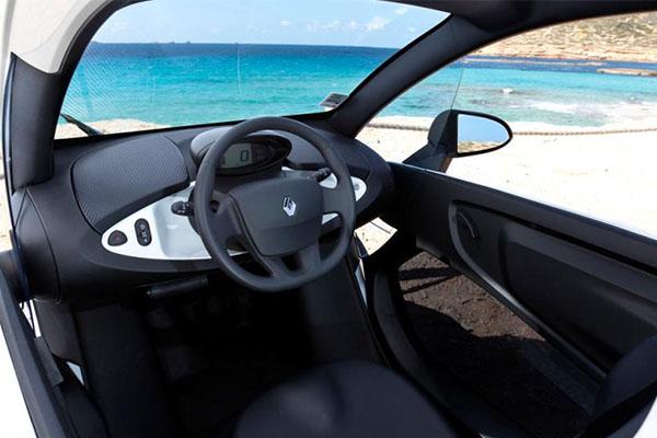 Coche eléctrico - renault twizy coches ligeros